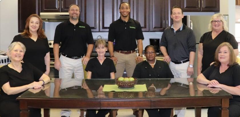 Talladega stroke rehab team
